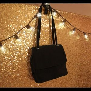Black Satiny Shiny Purse